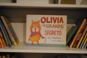 Olivia il grande segreto Farollo e Falpalà libreria per bambini di Firenze