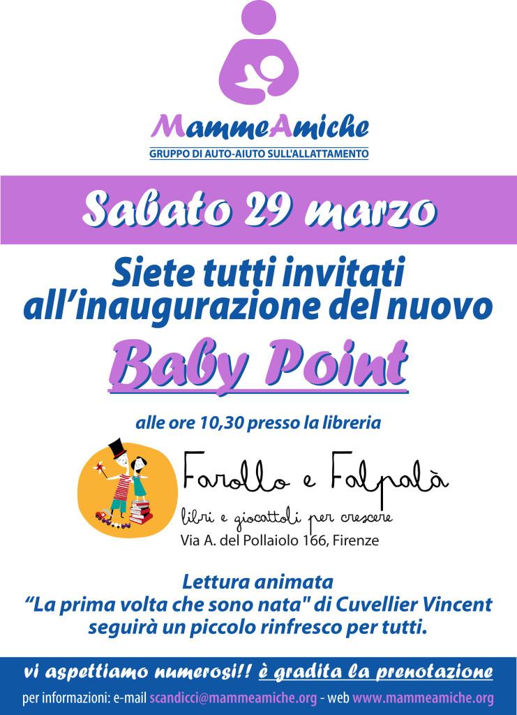 Baby Point Farollo e Falpalà Mamme amiche Firenze