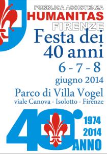 Farollo e Falpalà partecipano alla festa dei 40 anni dell'Humanitas Firenze