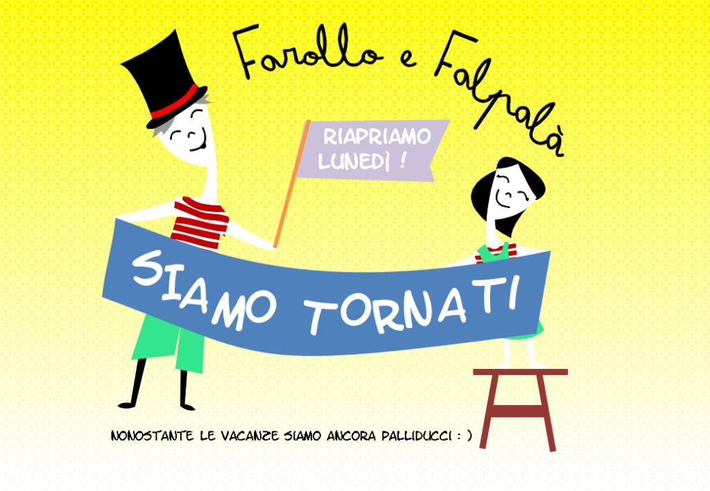 Farollo e Falpalà, libreria per bambini di Firenze, riapre dopo le vacanze estive il 25 agosto
