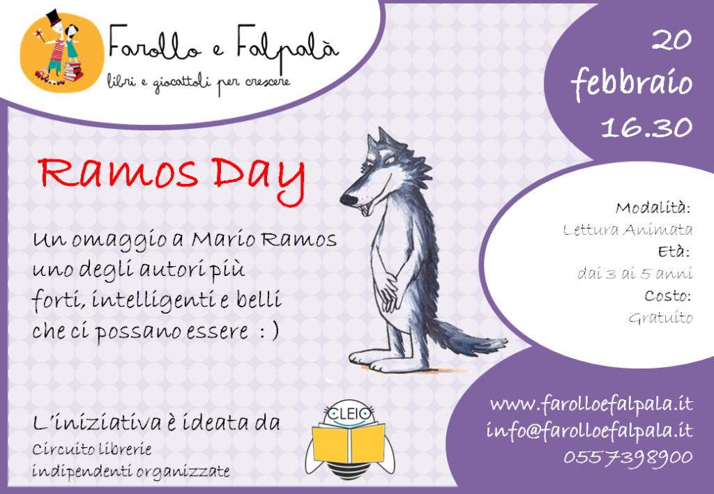 Farollo e Falpalà Libreria per bambini Firenze - locandina Ramos Day