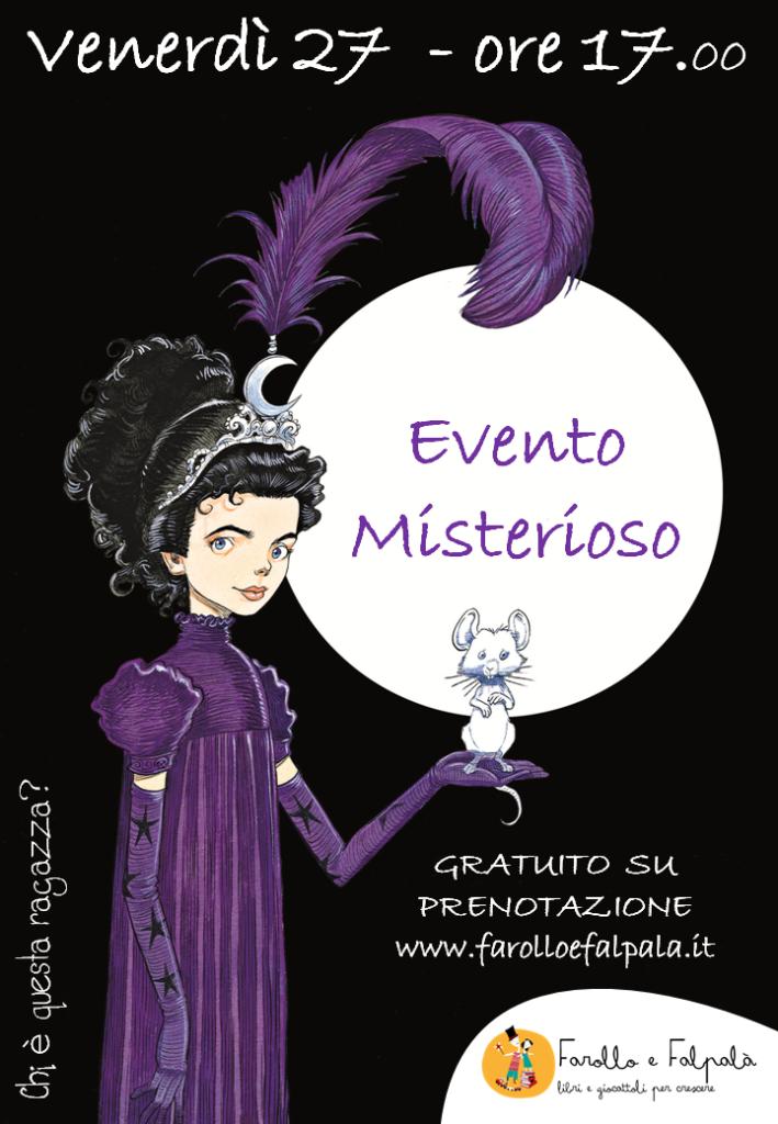 Evento_misterioso presentazione Agata dei Gotici di Chris Riddeell da Farollo e Falpalà