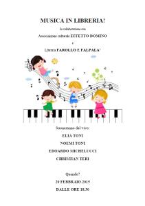 Musica in libreria - Farollo e Falpalà