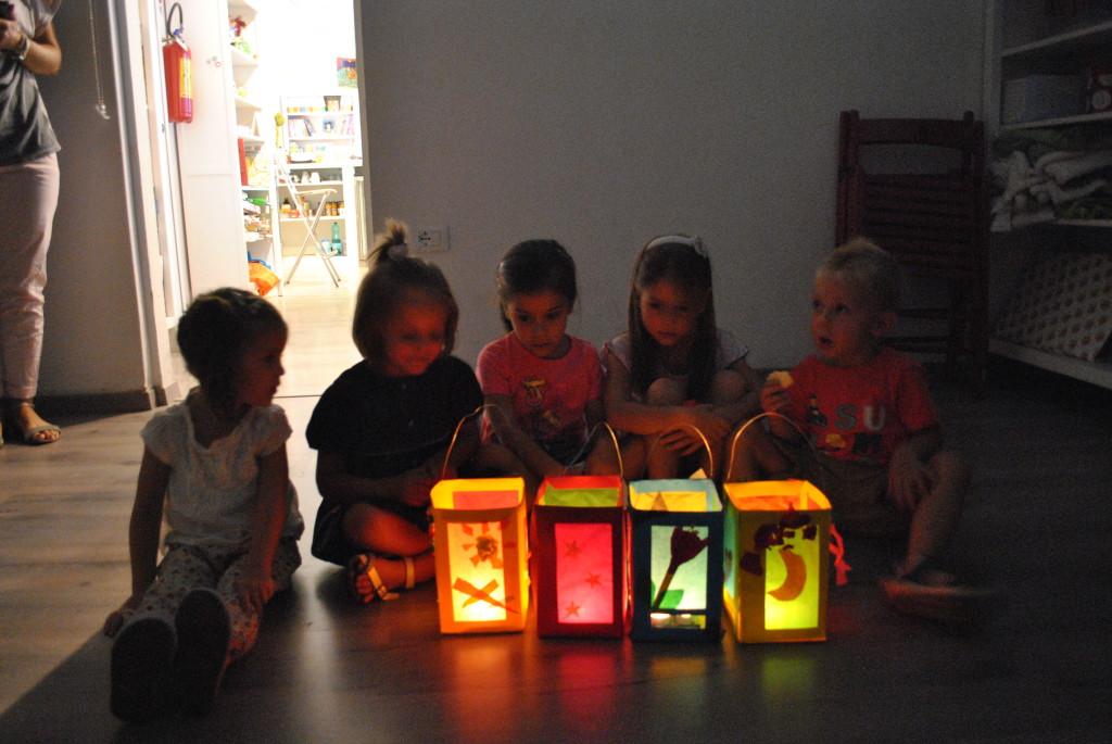 laboratorio rificolone da Farollo e Falpalà libreria per bambini di Firenze