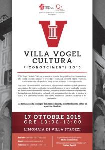 Poster Villa Vogel small