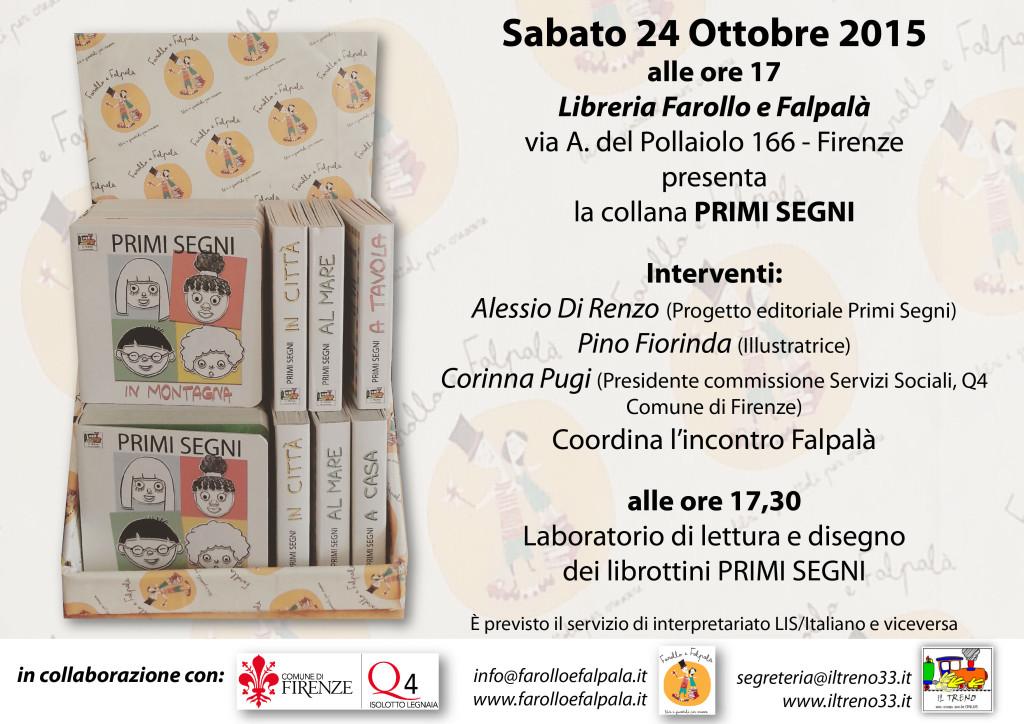 Primi segni in LIS - Librottini - libreria per bambini e ragazzi Farollo e Falpalà