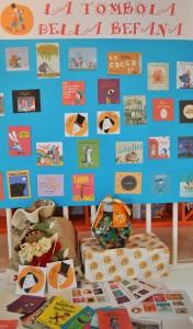 Tombola della Befana con i libri di Farollo e Falpalà
