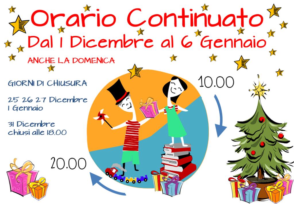 Orario Continuato feste 2015 da Farollo e Falpalà
