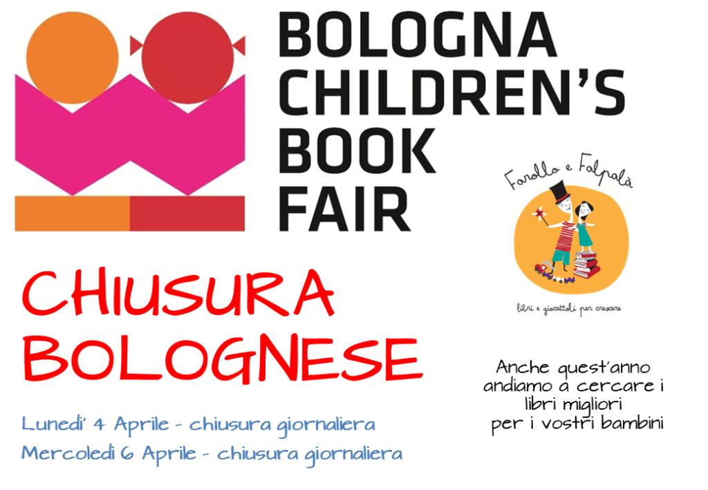 Chiusura per la Fiera del libro per bambini e ragazzi di Bologna