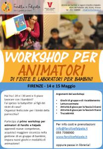 workshop per animatori da Farollo e Falpalà libreria per bambini e ragazzi Firenze