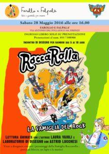 DISEGNA ROCK - laboratorio di disegno rock end roll da Farollo e Falpalà